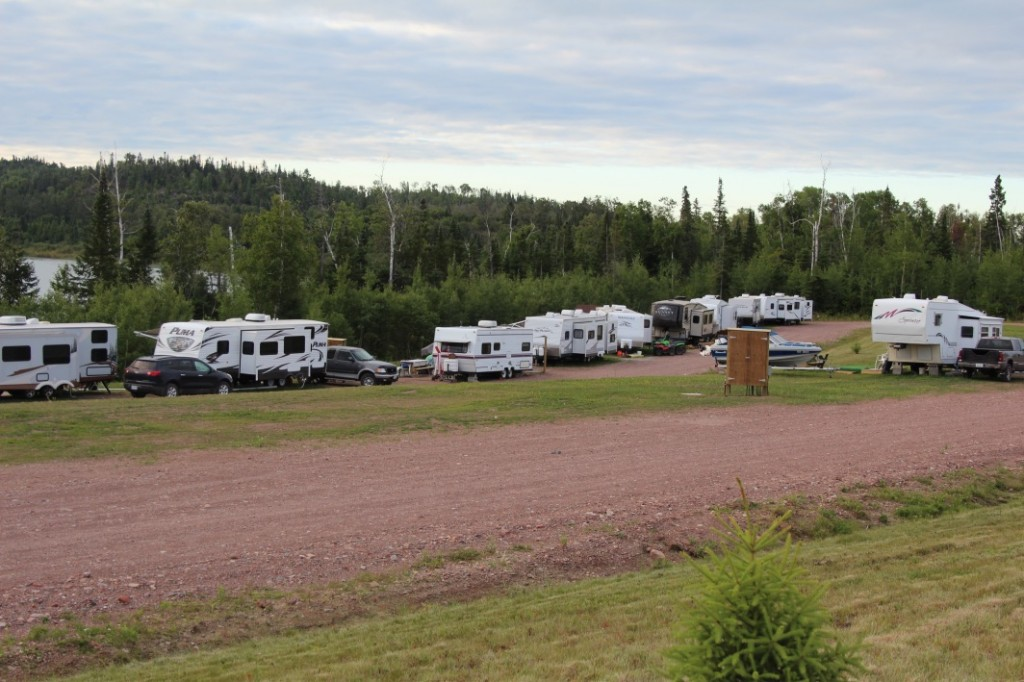 Some of the RV sites.